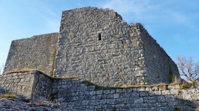 Ruderi del castello di Chiusi